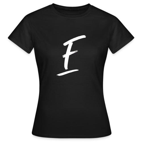 Radio Fugue F Blanc - T-shirt Femme
