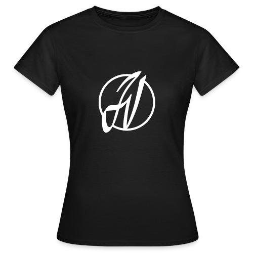 JV Guitars - logo blanc - T-shirt Femme