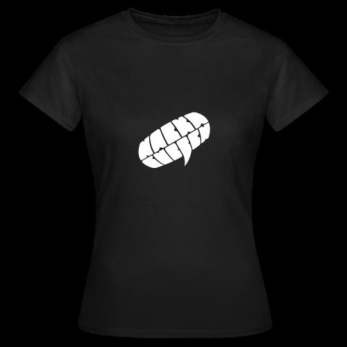 Nackagubben Logo White - Women's T-Shirt