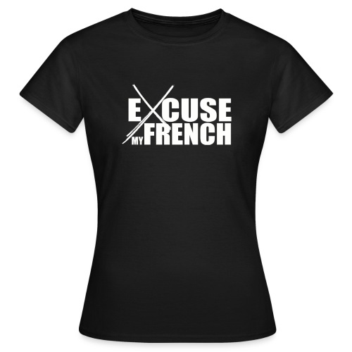 Logo White EMF - T-shirt Femme