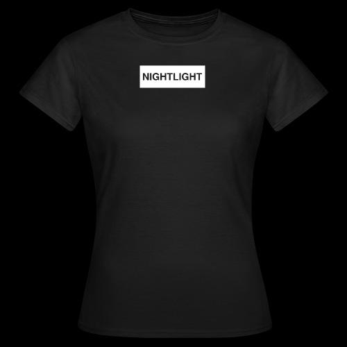 NIGHTLIGHT BOX LOGO (DAY) - Women's T-Shirt