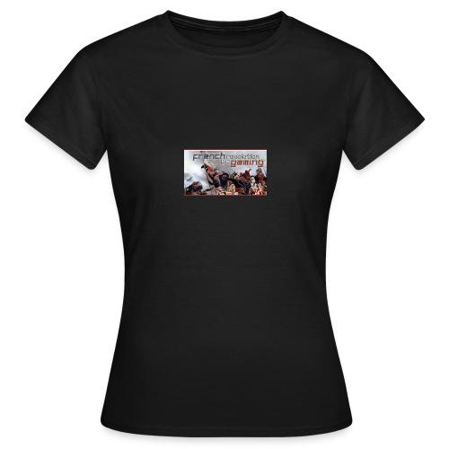 couverture - T-shirt Femme