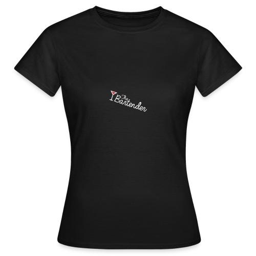 the bartender logo - Maglietta da donna