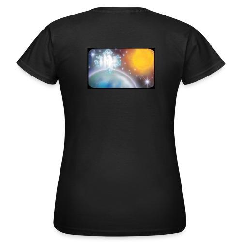 C JHS Espace Cadre noir - T-shirt Femme