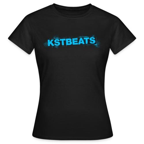 kstbeatsgraffitiblau png - Frauen T-Shirt