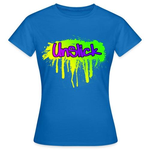 Unslick spread png - Frauen T-Shirt