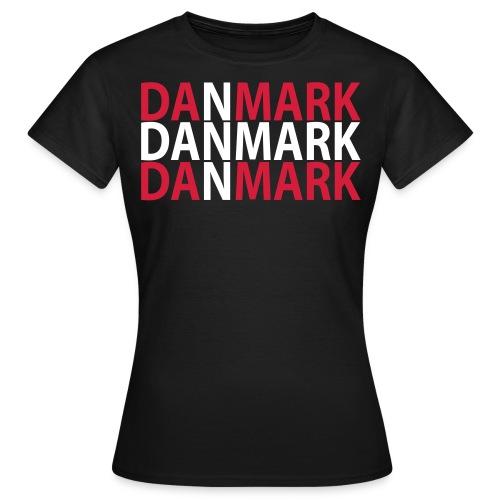 danmarkdenmark - Dame-T-shirt