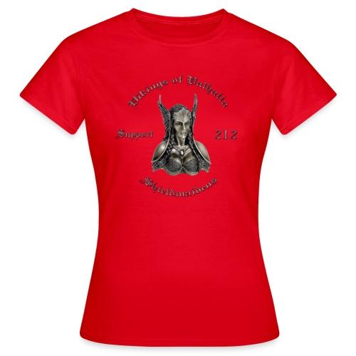 Shieldmaidens chrom minus skjold t shirt png - Dame-T-shirt