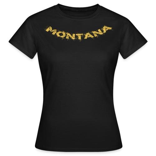 Montana Gold - Frauen T-Shirt