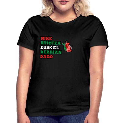 Bihotza - Camiseta mujer