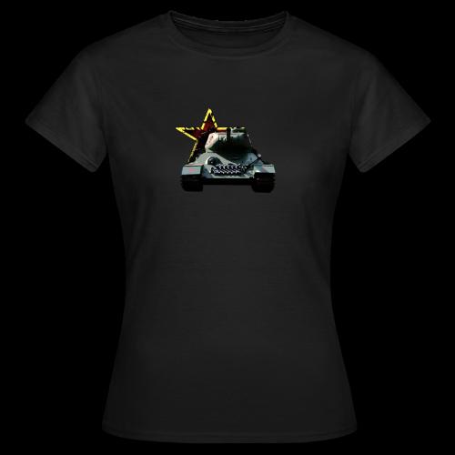 Russia - T34 Tank - Frauen T-Shirt