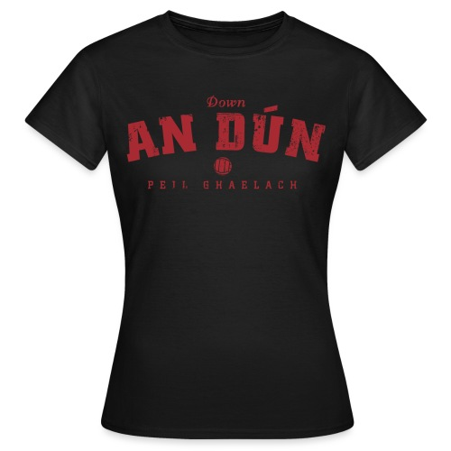 down vintage - Women's T-Shirt