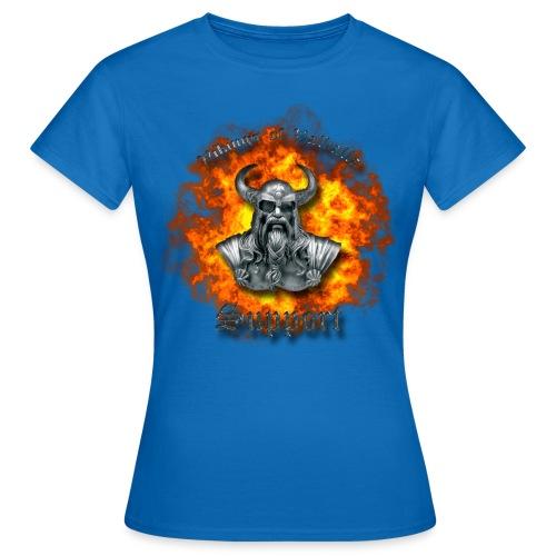 Ild png - Dame-T-shirt