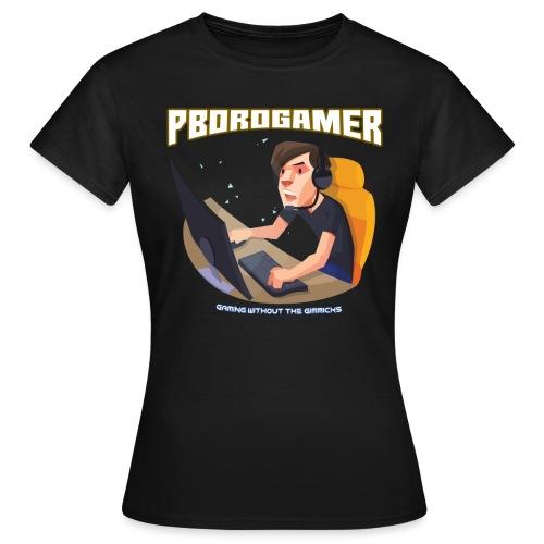 PBoroGamer Character - Women's T-Shirt