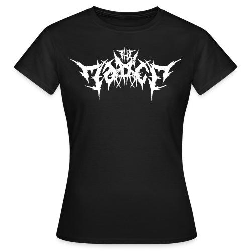 LogoInWhite - T-shirt dam