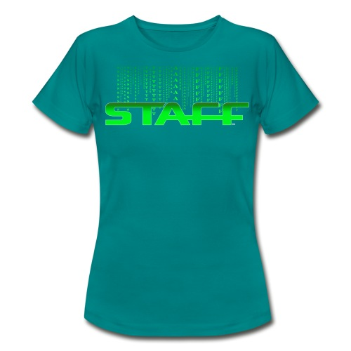 STAFF GREEN FICTION by Florian VIRIOT - T-shirt Femme