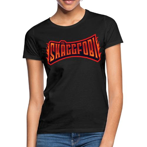 Skäggfobi TEXT - T-shirt dam