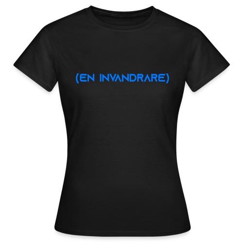 (en invandrare) - T-shirt dam