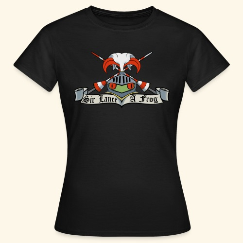 Sir Lance-a-frog Coat of Arms - Women's T-Shirt
