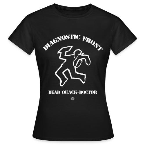 diagnostic front gif - T-shirt Femme