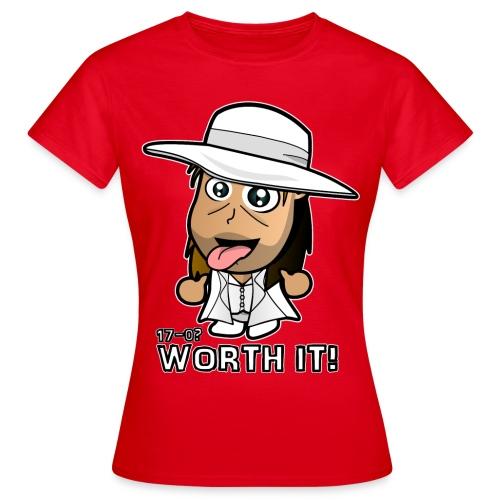 Chibi Light HBK - Worth It - Women's T-Shirt