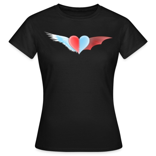 ange et démon - T-shirt Femme