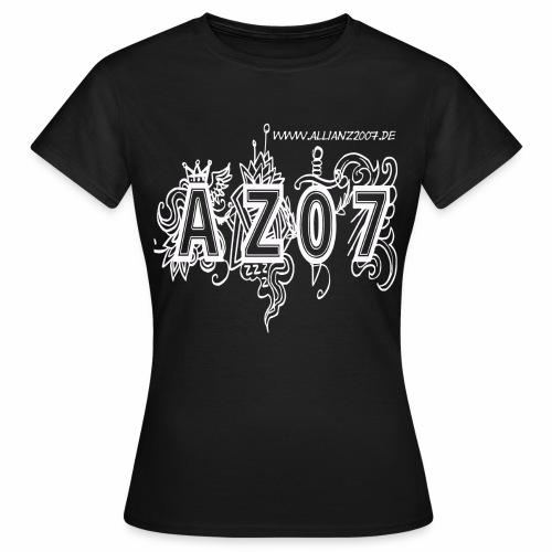 azlogowhite - Frauen T-Shirt