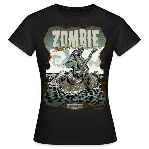 zombiesailor unido2 - Camiseta mujer