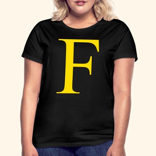 F - T-shirt dam