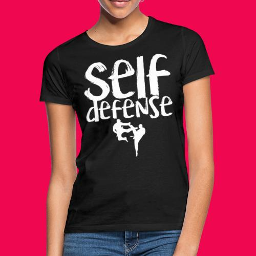 Self Defense 1.0 - Frauen T-Shirt
