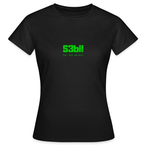 S3bi! Full Logo - Frauen T-Shirt