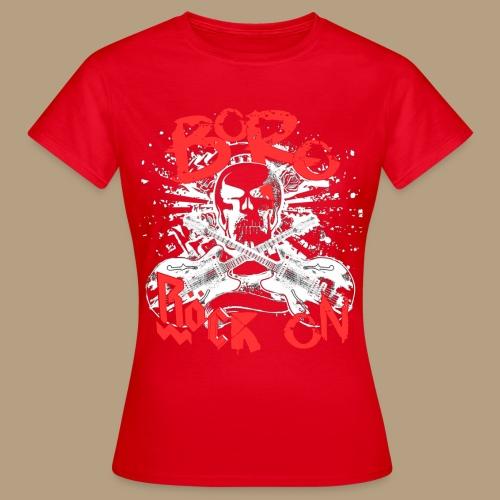 RöckOnRed - Frauen T-Shirt