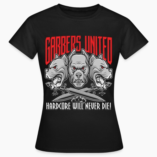 Gabbers United - Women's T-Shirt