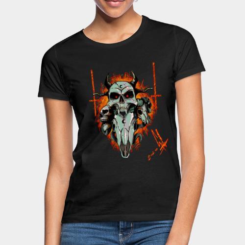 Skulls - Maglietta da donna