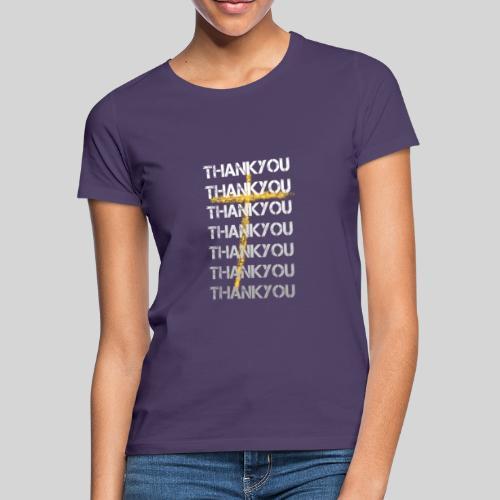 DANKE Jesus, das Geschenk für Christen THANKYOU - Frauen T-Shirt