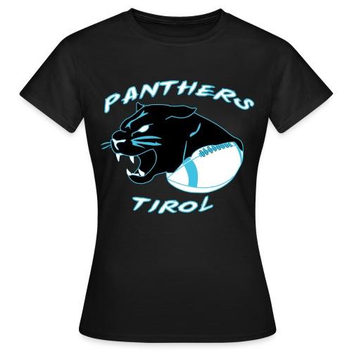 Panthers Logo 2014 Schriftzug Dark png - Frauen T-Shirt