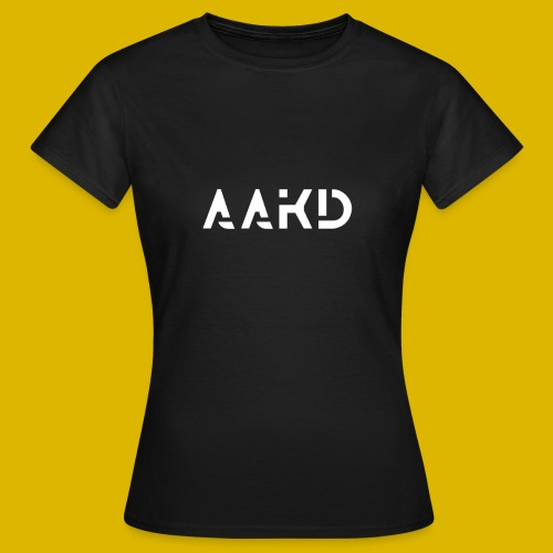 AAKD Logo in weiß - Frauen T-Shirt