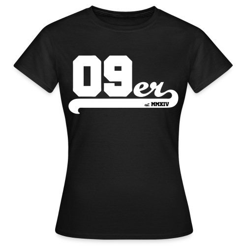 09er strich copy estab - Frauen T-Shirt
