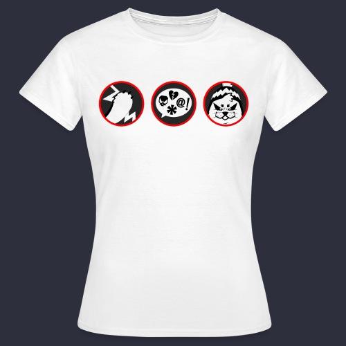 Kuutti | VAROITUS - Naisten t-paita