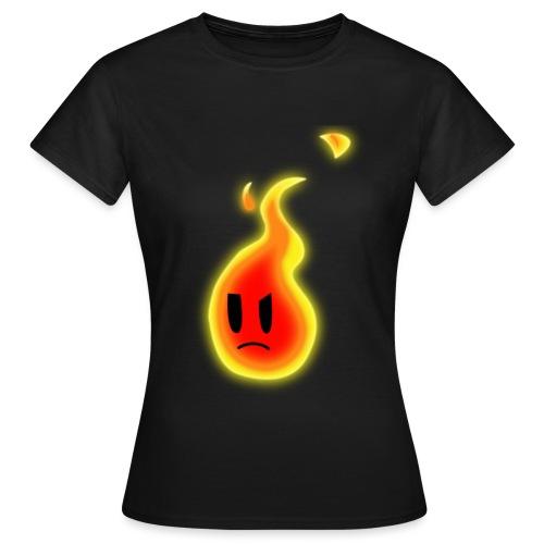 Robert Die Flamme - Frauen T-Shirt