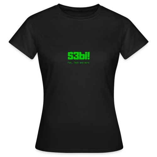 S3bi! Full Logo - Frauen T-Shirt