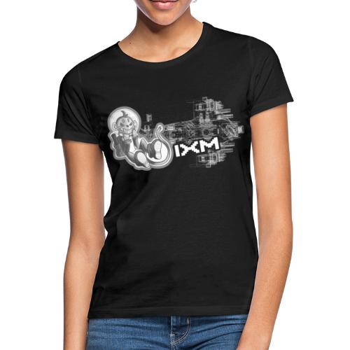 IXM Wireframe 4000pix - Frauen T-Shirt