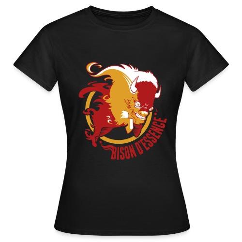 BisonLogo2 png - T-shirt Femme