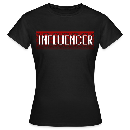 INFLUENCER | ORIENTALISCHES MUSTER | ROT - Frauen T-Shirt