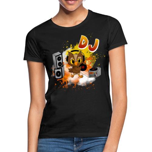 Eule DJ - Frauen T-Shirt