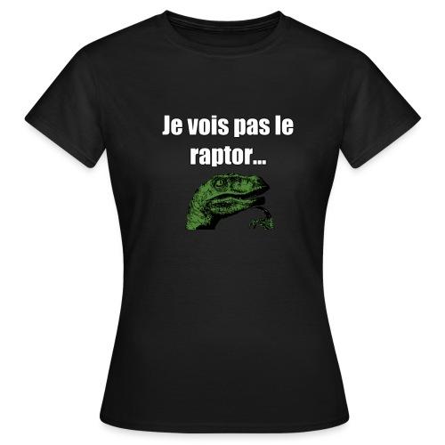 Motif_Philosoraptor - T-shirt Femme