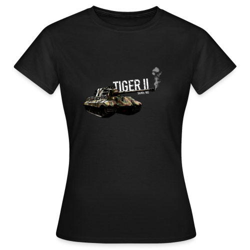 German Tank - Tiger 2 (Sd.Kfz. 182) - Frauen T-Shirt