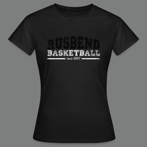 Rusbendbasketballlogo_sch - Frauen T-Shirt