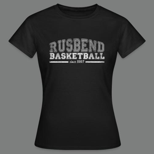 Rusbendbasketballlogo_gra - Frauen T-Shirt