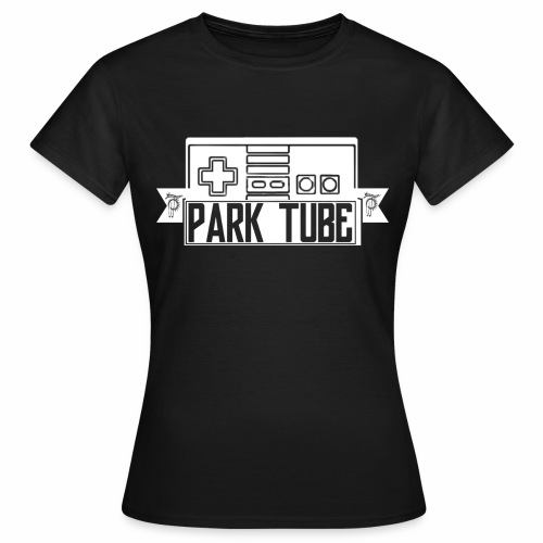 ParkTube Gaming Logo weiss - Frauen T-Shirt
